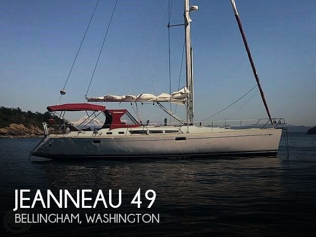 2005 Jeanneau boat for sale, model of the boat is Sun Odyssey 49 & Image # 1 of 40