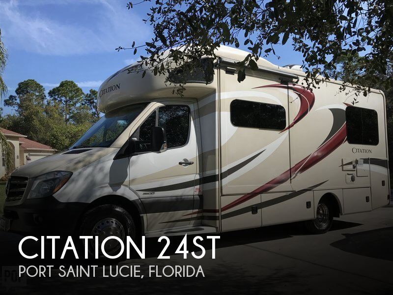 2016 Thor Motor Coach Citation 24ST