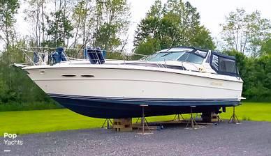 1989 SEA RAY 390 EXPRESS CRUISER - NEW Bottom Paint June 2021