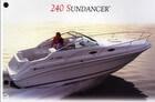 SEA RAY 240 Sundancer Brochure