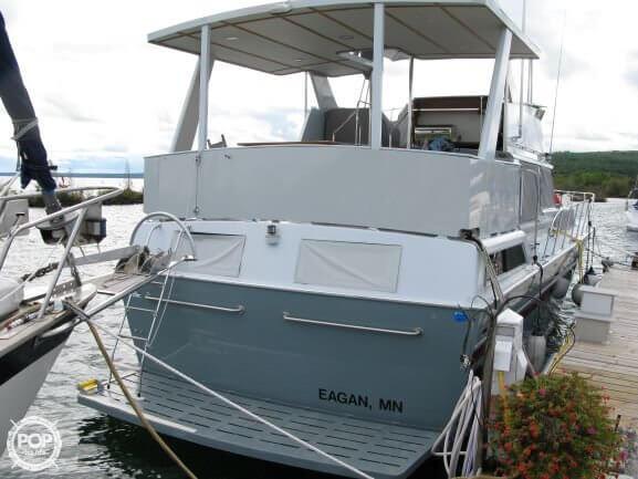1988 Marinette boat for sale, model of the boat is 41 Flybridge & Image # 3 of 41
