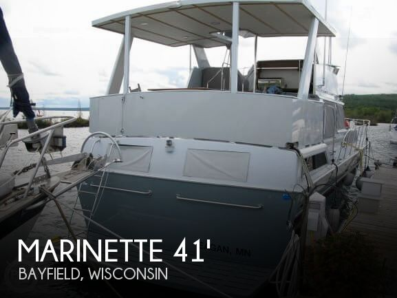 Used Boats For Sale in Duluth, Minnesota by owner | 1988 Marinette 41
