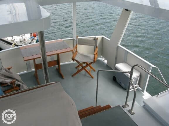 1988 Marinette boat for sale, model of the boat is 41 Flybridge & Image # 9 of 41