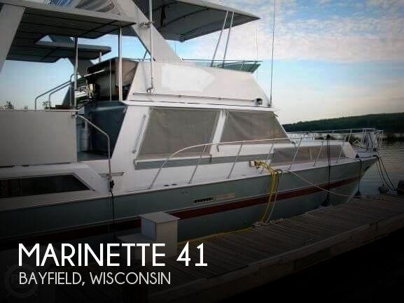 1988 Marinette boat for sale, model of the boat is 41 Flybridge & Image # 1 of 41