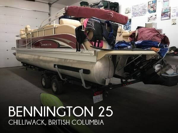 Used Pontoon Boats For Sale by owner | 2008 Bennington 25