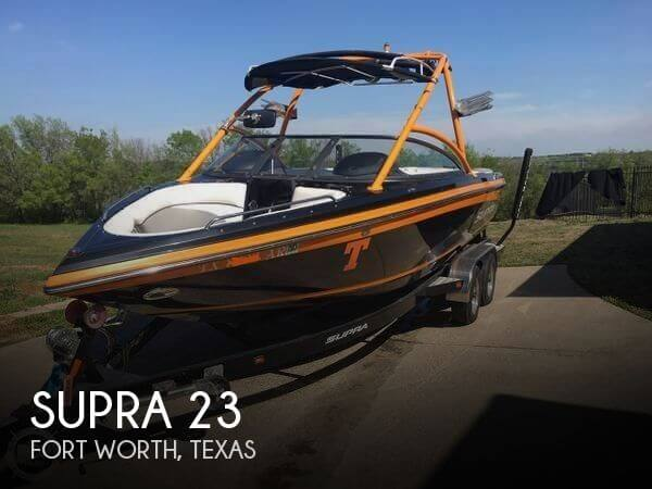 Used SUPRA Boats For Sale by owner   2008 Supra 23