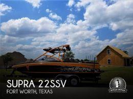 2008 Supra 22SSV