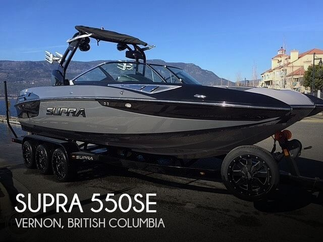 Used SUPRA Boats For Sale by owner | 2015 Supra 550SE