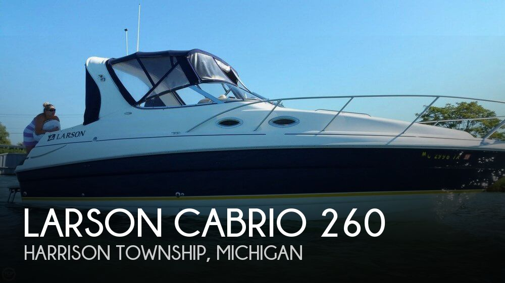 Used Larson Boats For Sale in Michigan by owner   2005 Larson 27