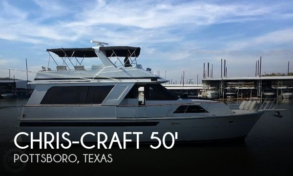 Used Boats For Sale in Texas by owner | 1989 Chris-Craft 50