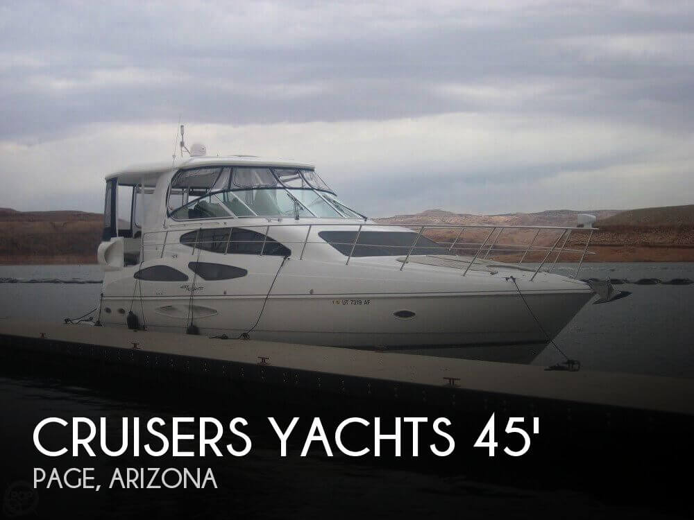 Used Boats For Sale in Arizona by owner | 2008 Cruisers Yachts 45