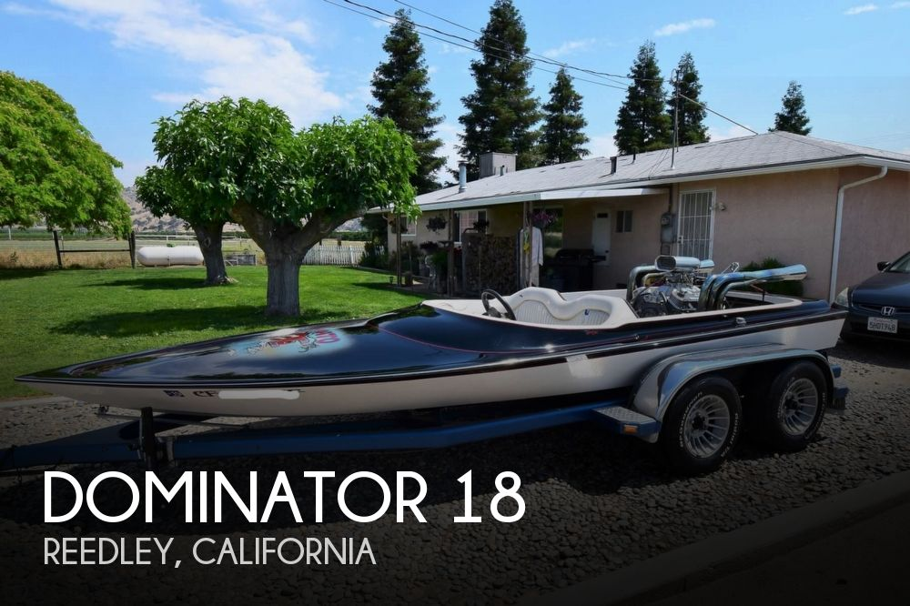 1977 Dominator boat for sale, model of the boat is 18 & Image # 1 of 41
