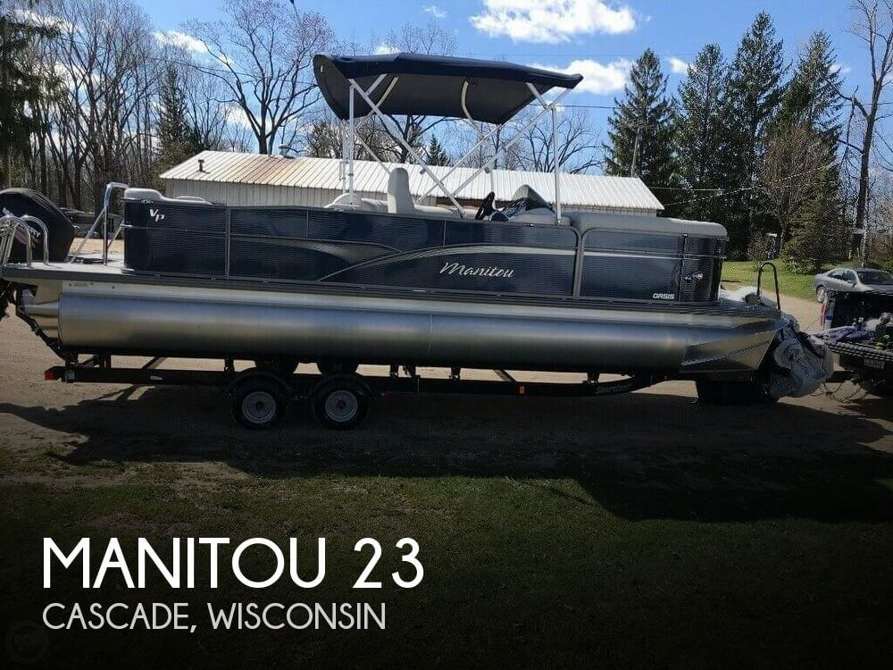 Used Boats For Sale in Appleton, Wisconsin by owner | 2015 Manitou 23