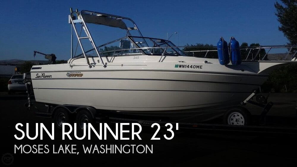 Used Sun runner Boats For Sale by owner | 1991 Sun Runner 24