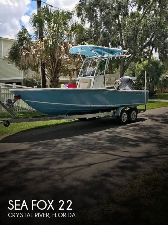 Used Boats For Sale by owner   2018 Sea Fox 22
