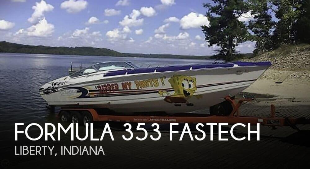 Used Boats For Sale in Indiana by owner | 2003 Formula 353 FASTech