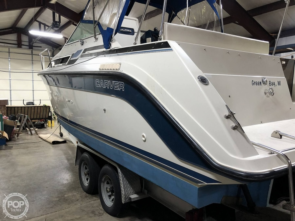 1989 Carver boat for sale, model of the boat is 23 Montego Mid Cabin & Image # 2 of 41