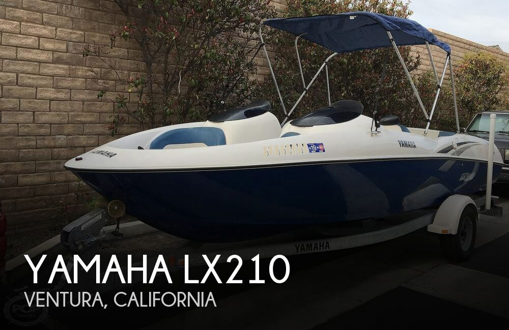 2004 Yamaha boat for sale, model of the boat is LX210 & Image # 1 of 40