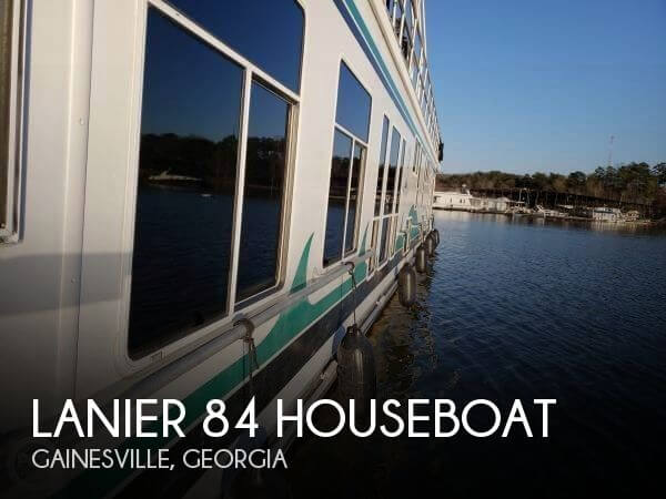 Used Houseboats For Sale by owner | 2000 Lanier 84