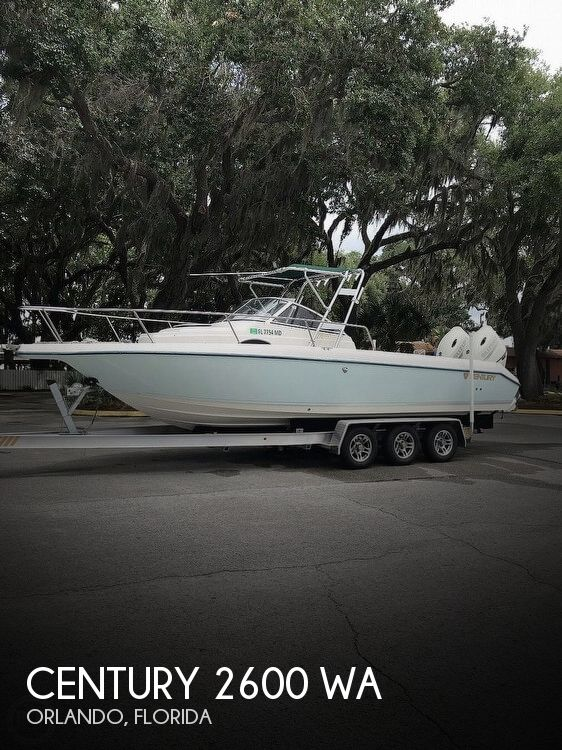 Used Century Boats For Sale by owner | 1996 Century 26