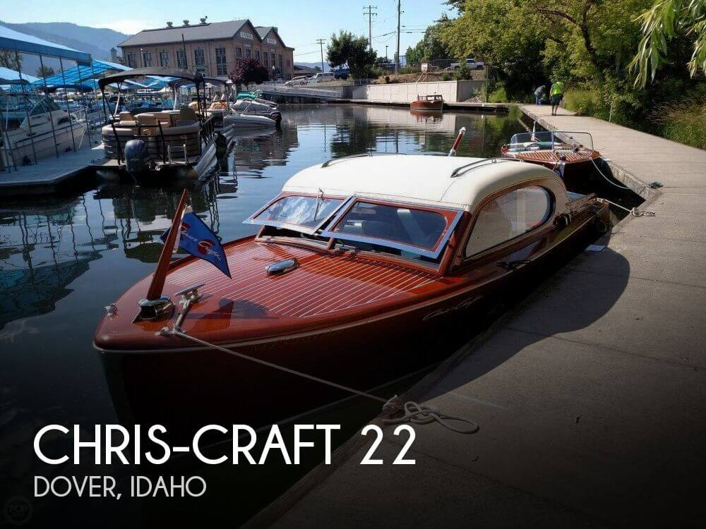 Used Boats For Sale in Spokane, Washington by owner | 1949 Chris-Craft 22