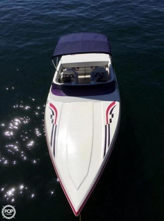 1998 Eliminator boat for sale, model of the boat is 250 Eagle XP & Image # 21 of 40