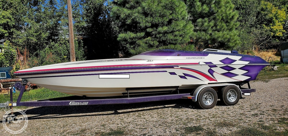 1998 Eliminator boat for sale, model of the boat is 250 Eagle XP & Image # 2 of 40