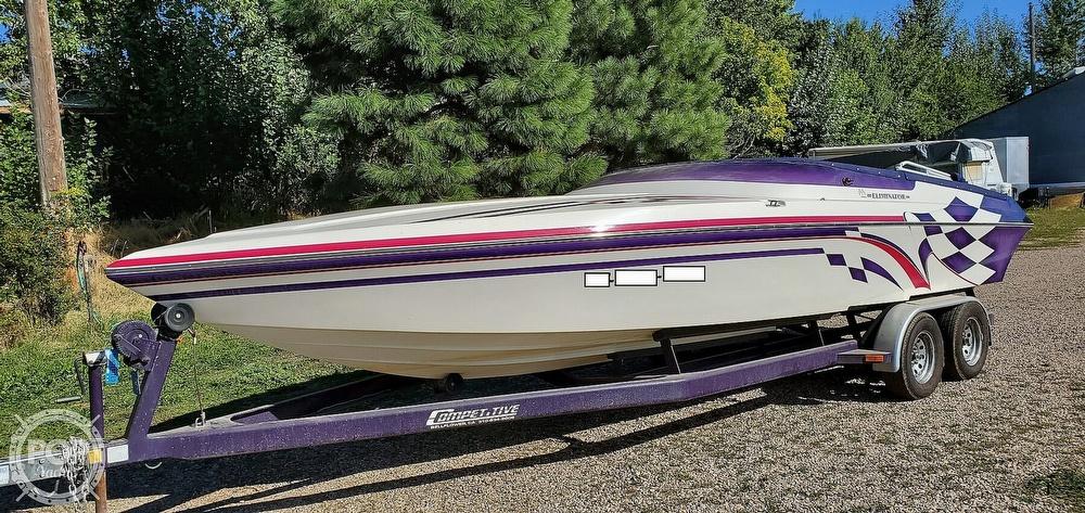 1998 Eliminator boat for sale, model of the boat is 250 Eagle XP & Image # 39 of 40