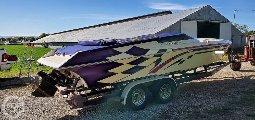 1998 Eliminator boat for sale, model of the boat is 250 Eagle XP & Image # 19 of 40