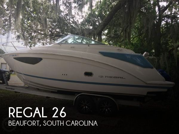 Used Boats For Sale in Savannah, Georgia by owner | 2018 Regal 26