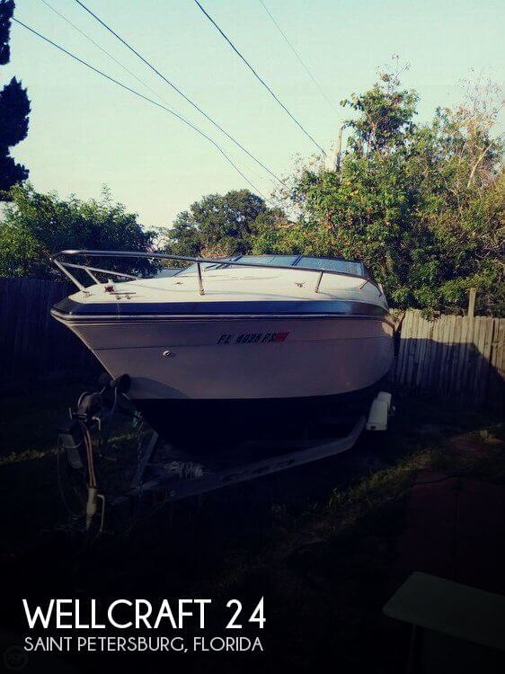 Used Wellcraft 24 Boats For Sale by owner | 1990 Wellcraft 24