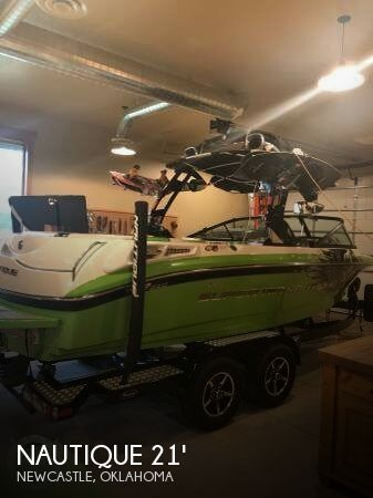 Used Boats For Sale in Oklahoma City, Oklahoma by owner   2011 Nautique 21