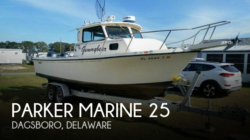 Used Boats For Sale in Atlantic City, New Jersey by owner | 1995 Parker Marine 25