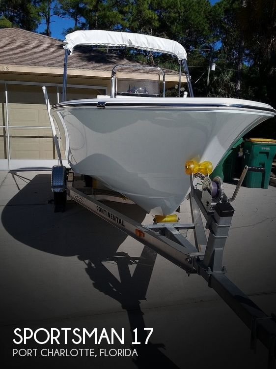 Used Sportsman Boats For Sale by owner   2016 Sportsman 17