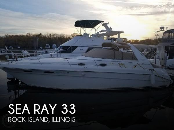 Used Boats For Sale in Cedar Rapids, Iowa by owner | 1998 Sea Ray 33