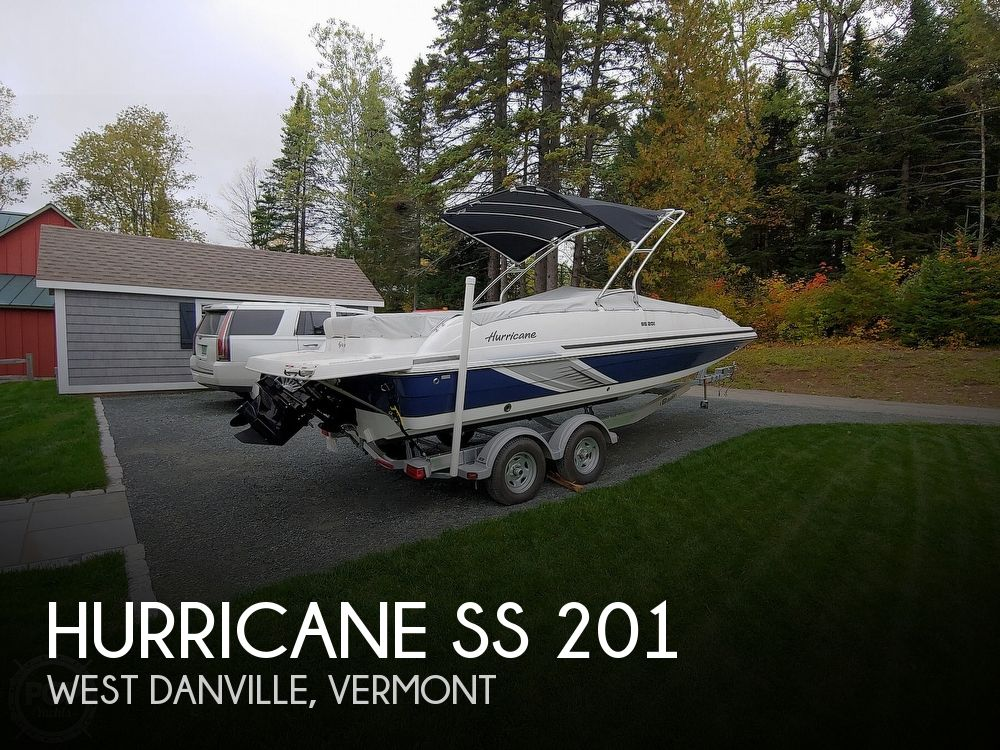 2016 Hurricane boat for sale, model of the boat is SS 201 & Image # 1 of 7
