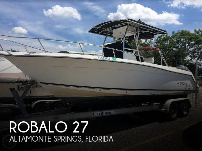 Used Robalo Boats For Sale by owner   2001 Robalo 27