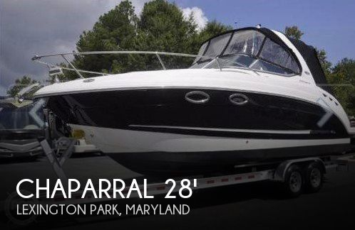 Used Chaparral Boats For Sale in Maryland by owner | 2011 Chaparral 270 Signature