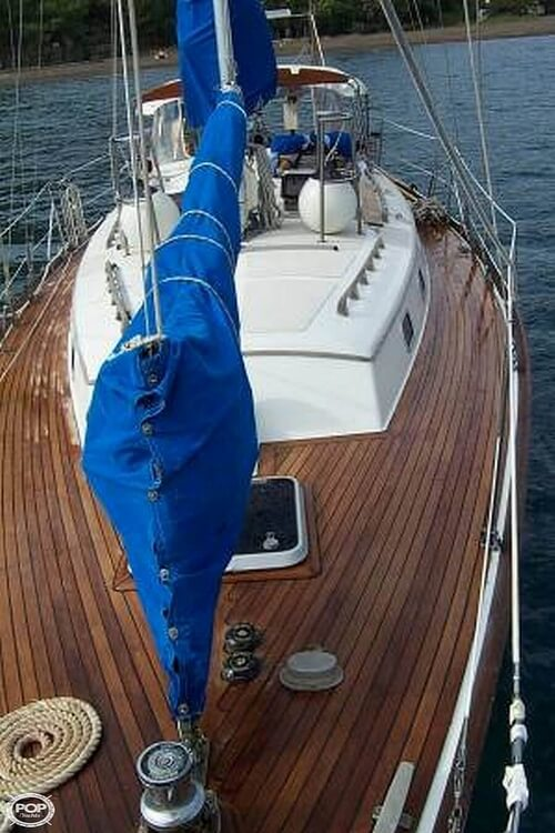1991 Brewer boat for sale, model of the boat is Dolphin 43 & Image # 2 of 40
