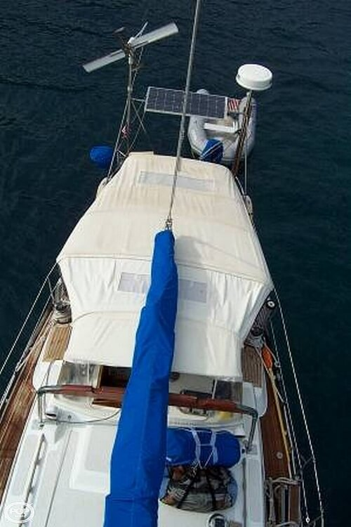 1991 Brewer boat for sale, model of the boat is Dolphin 43 & Image # 3 of 40