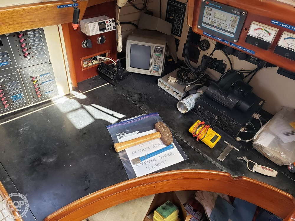 1991 Brewer boat for sale, model of the boat is Dolphin 43 & Image # 40 of 40