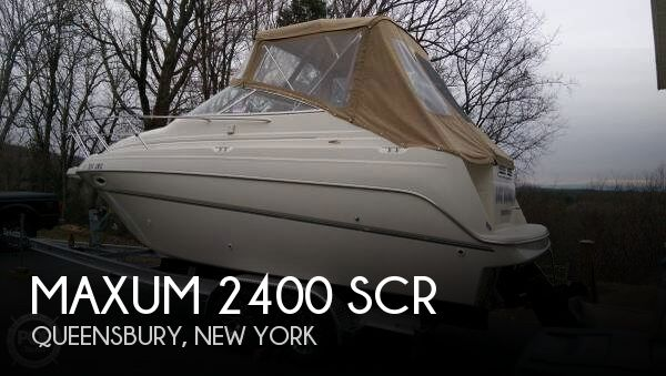 2001 Maxum boat for sale, model of the boat is 2400 SCR & Image # 1 of 40