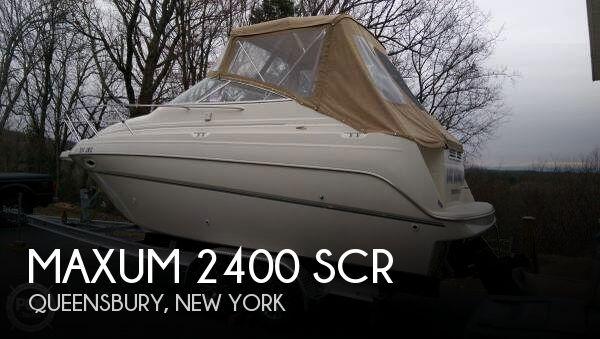 Sold Maxum 2400 Scr Boat In Queensbury Ny 180887