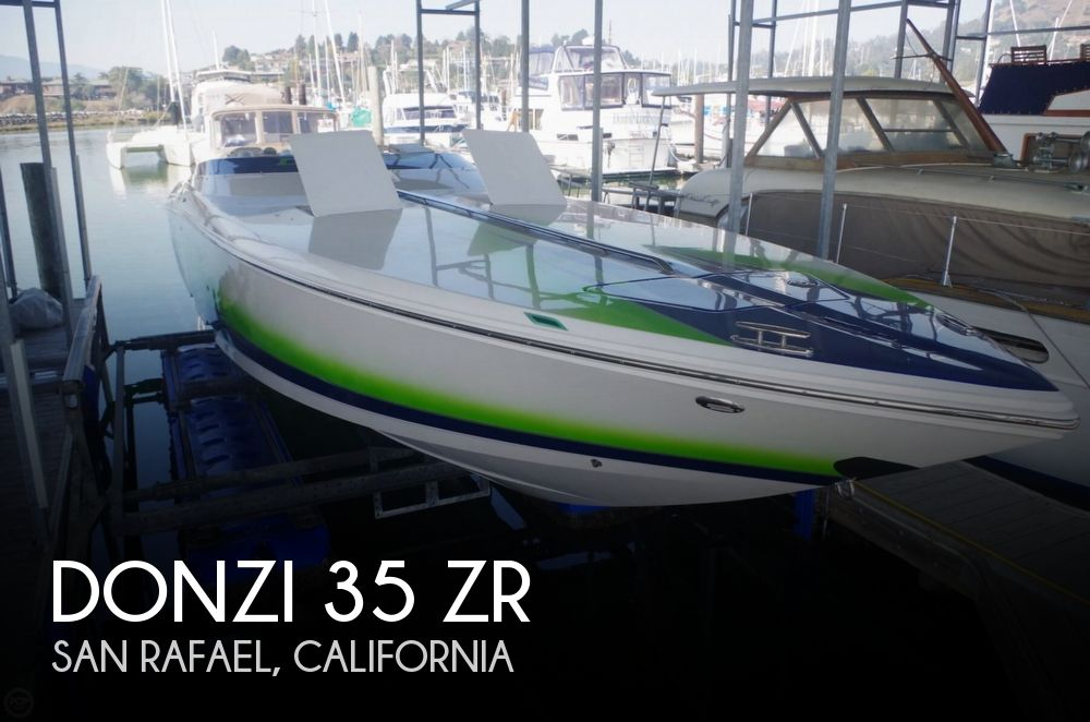 Used Boats For Sale in Vallejo, California by owner | 2008 Donzi 35 ZR