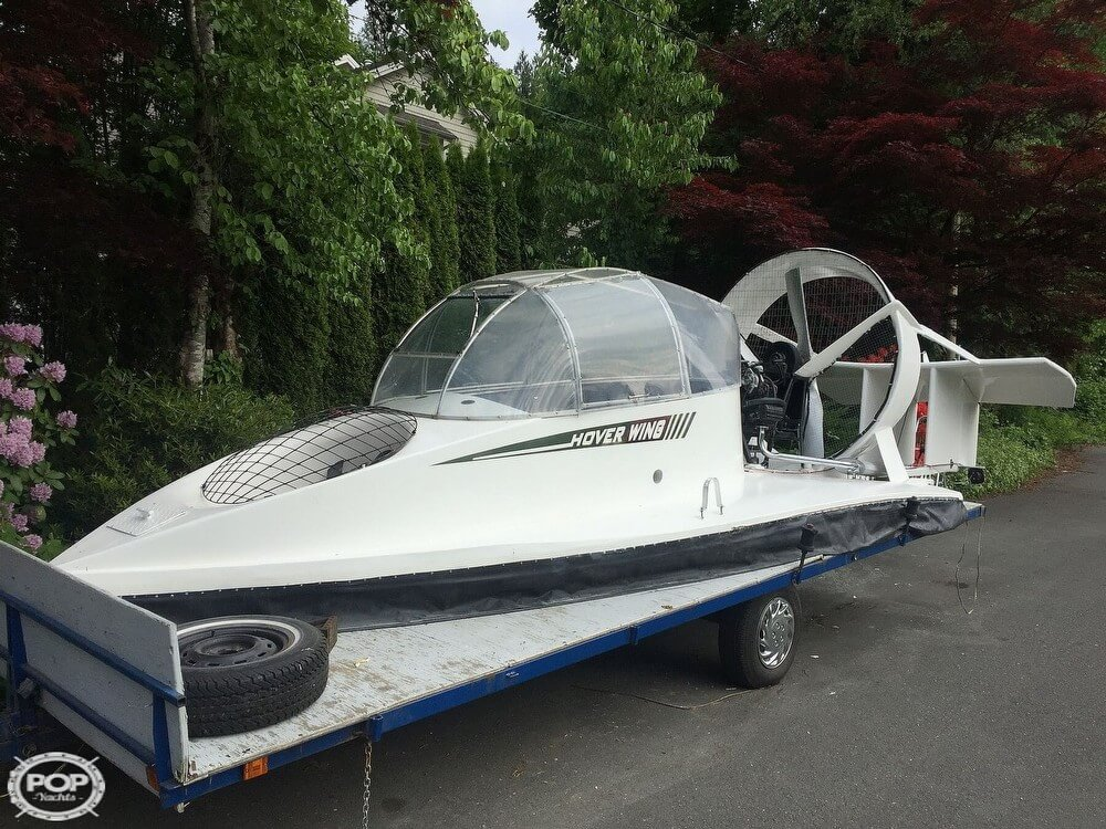 2006 Universal Hovercraft SP boat for sale, model of the boat is UH18-SPW Hoverwing & Image # 2 of 40