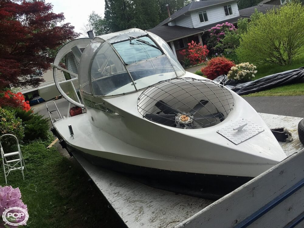 2006 Universal Hovercraft SP boat for sale, model of the boat is UH18-SPW Hoverwing & Image # 5 of 40