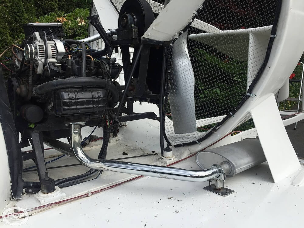 2006 Universal Hovercraft SP boat for sale, model of the boat is UH18-SPW Hoverwing & Image # 33 of 40