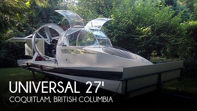 2006 Universal Hovercraft SP boat for sale, model of the boat is UH18-SPW Hoverwing & Image # 1 of 40