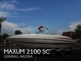 2005 Maxum 2100 SC