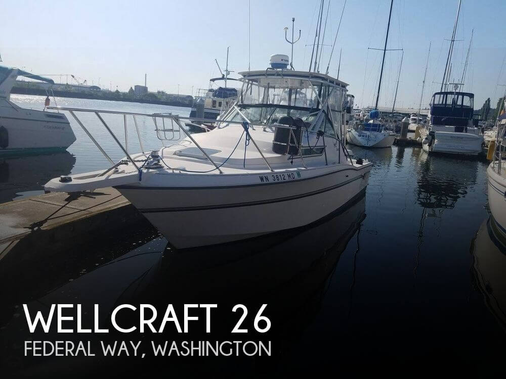 Used Wellcraft Boats For Sale in Washington by owner | 1992 Wellcraft 26
